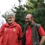 L'arbitro Ermanno con Massimo