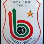 Adesivo 2008 con Stella di Bronzo al Merito Sportivo - CONI Roma - 25 Giugno 2007